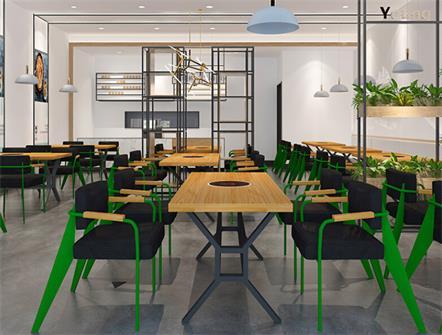 美式复古创意火锅餐厅