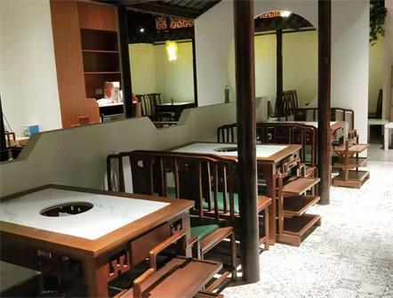 高捞庄餐厅火锅桌椅定