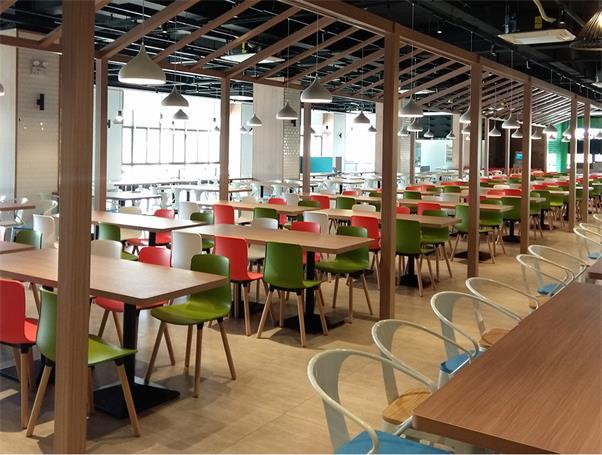 食堂餐厅桌椅_企业单位