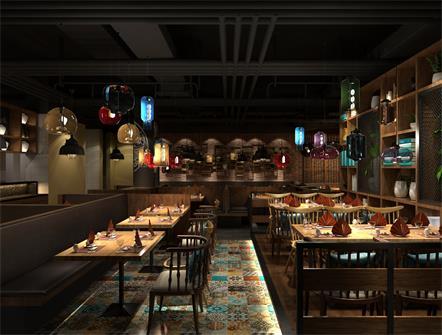 叙尚坊秘汁焖锅餐厅桌