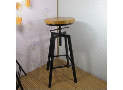 餐厅/酒吧双色高脚吧椅