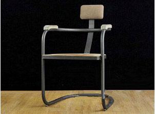餐厅创意铁艺餐椅 工业
