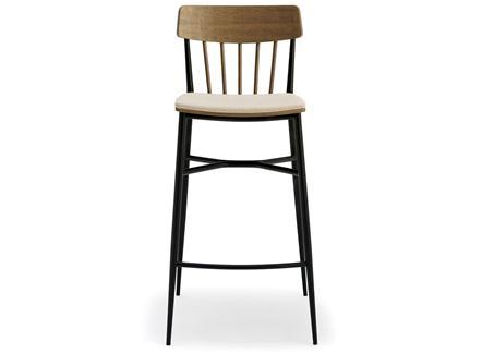 北欧风现代简约咖啡厅高脚吧椅
