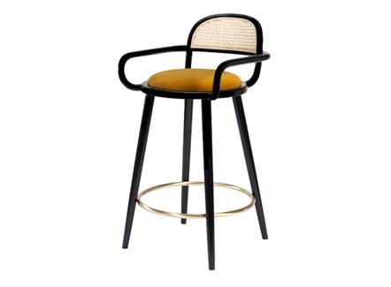 美式咖啡馆特色休闲简约铁艺椅