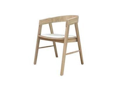 现代简约实木咖啡椅