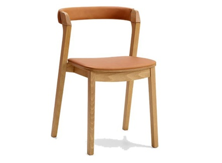 <b>日式咖啡厅简约实木靠背椅子</b>