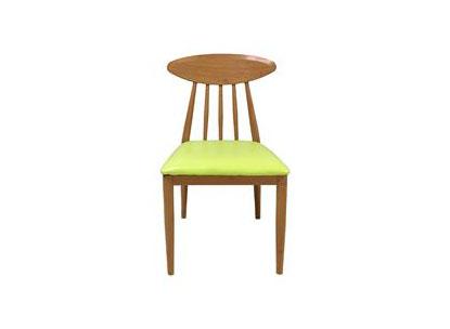 北欧休闲靠背布艺椅 咖啡厅椅子