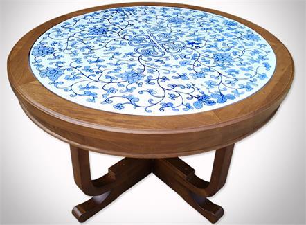 咖啡店家具实木桌椅_咖啡厅大理石桌
