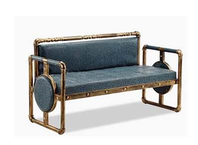铁艺休闲沙发简约复古舒