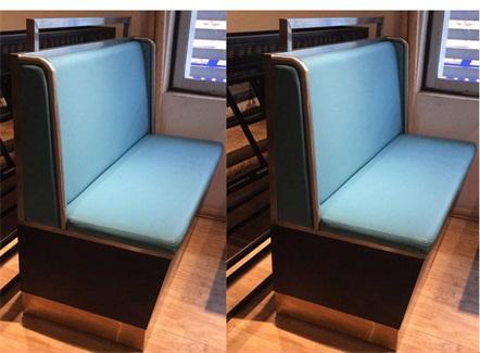时尚新式火锅店茶餐厅软包卡座沙发桌椅