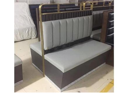火锅店西餐厅时尚双面卡座沙发定制