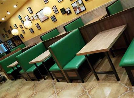 8人学生食堂桌椅_大学食堂专用餐桌