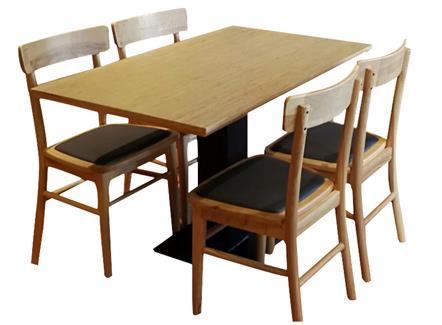 4人位企业职工学校食堂餐桌