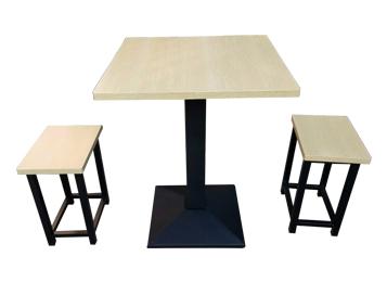 简易长方形餐桌 食堂餐厅桌椅