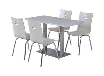 学校食堂桌椅_四人食堂