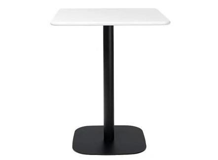 员工食堂天然大理石正方形餐桌