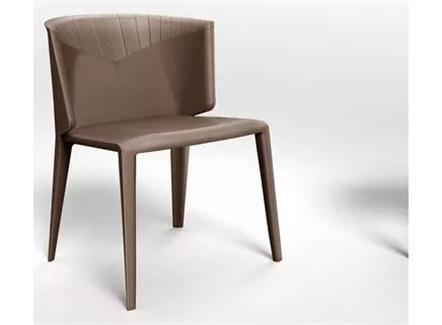西式快餐厅现代简约风格铁艺靠背椅