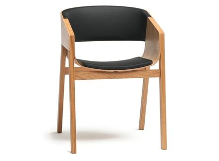 日式简餐快餐店现代简约实木靠背椅