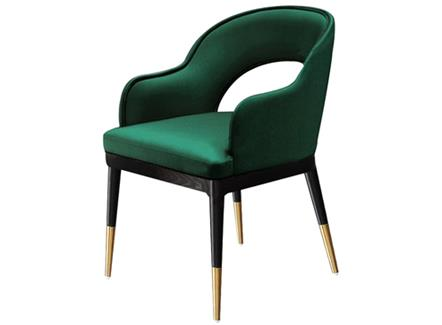 轻奢后现代简约_西餐厅创意时尚椅子_咖啡店休闲会所靠背椅