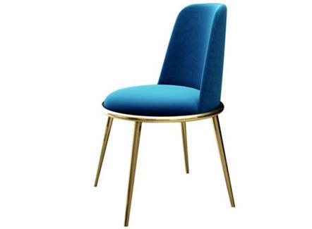 北欧现代简约轻奢餐椅不