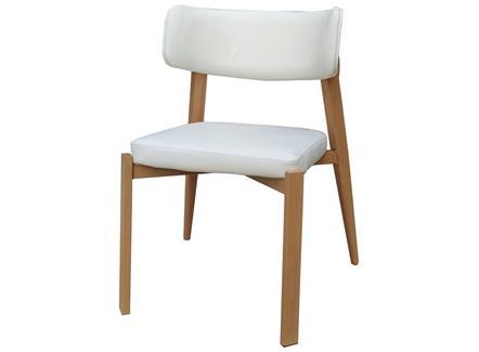 北欧田园橡木西餐厅餐椅_简约休闲咖啡厅椅子_工厂直销