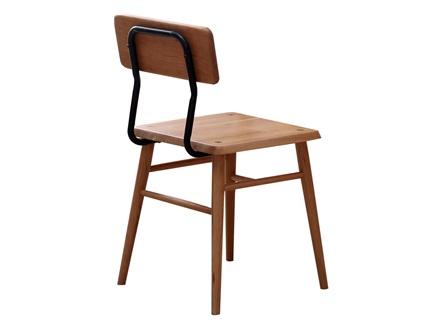 咖啡厅现代简约日式风格实木靠背椅