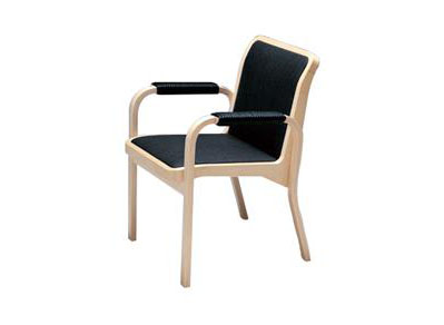 西餐厅靠背扶手椅 现代