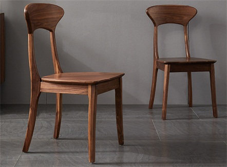 中式简餐经典简约风格实木靠背椅