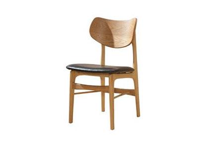简约休闲实木椅 西餐厅