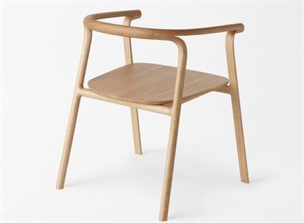 西式快餐休闲时尚全实木圈椅