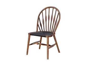 实木孔雀椅 北欧简约休