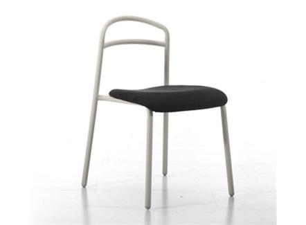 西式快餐咖啡店创意时尚金属椅