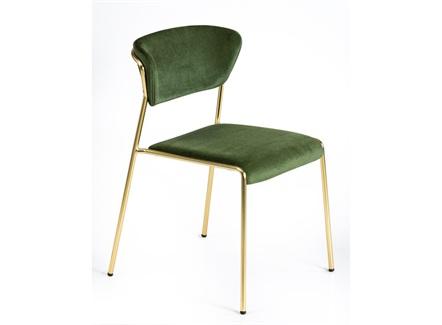 西式餐厅钛金不锈钢时尚靠背椅子