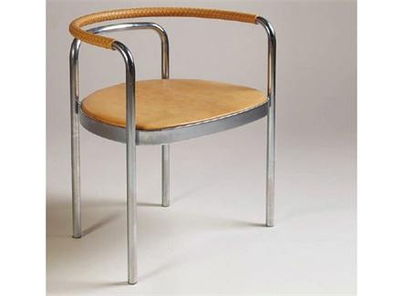 西式简餐现代简约创意不锈钢椅子