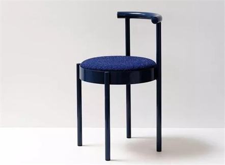 西餐厅咖啡厅现代简约铁艺靠背椅
