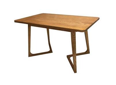 简约休闲全实木西餐厅桌子