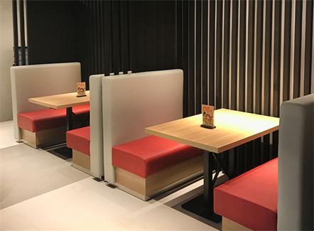 现代简约奶茶店快餐店西