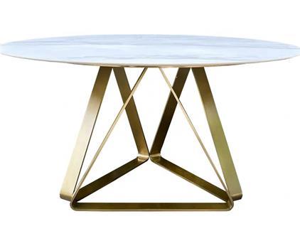 高档西餐厅不锈钢桌椅_主题餐厅大理石桌椅
