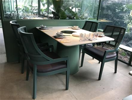 泰式海鲜火锅生如夏花餐厅桌椅定做