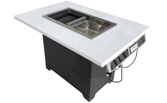 烤肉汤锅一体桌