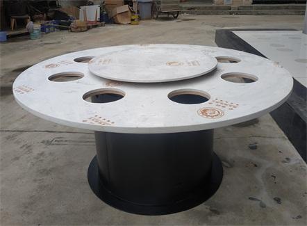 新中式小火锅8人桌带电