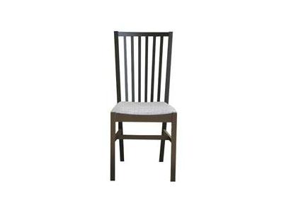中餐厅复古做旧布艺实木餐椅
