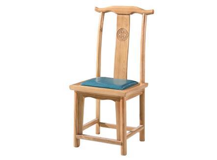 茶餐厅休闲会所茶楼新中式实木椅子