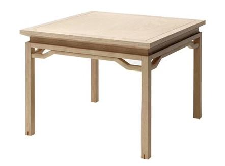 家常菜中餐厅中式实木八仙台