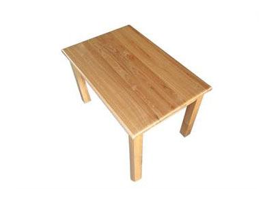 中餐厅简约全实木餐桌
