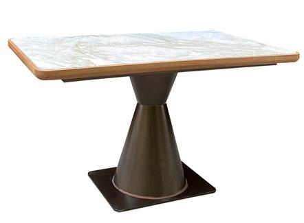 客家菜中式餐厅4人位大理石桌子