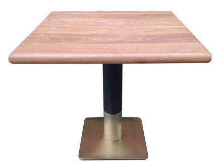 潮汕菜酒楼餐厅桌椅_饭店实木餐桌椅