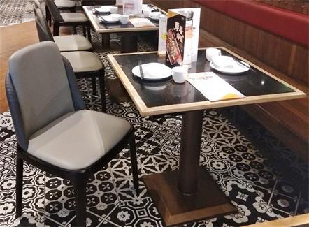 中式正餐江浙菜时尚餐厅桌椅